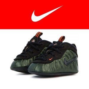 Nike Lil Foam Posite Pro Sequoia Green Size 2C